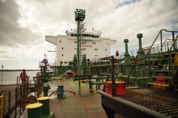 Pipework - M/T Kakariki, Port of Auckland